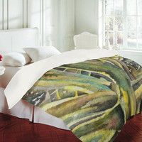 DENY Designs Home Accessories | Rosie Brown Tropical Greens Duvet Cover