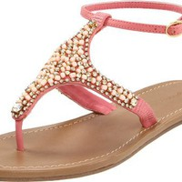 ZiGiny Women's Insight Sandal,Coral,8 M US