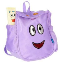 Dora the Explorer Map & Plush Backpack PURPLE