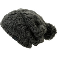 DC Girls Tayce 2013 Grey Pom Beanie