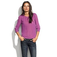 Women&#x27;s SHIRTS &amp; TOPS - blouses - Silk Poetess Top - Madewell