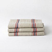 linen kitchen towel, french linen towel | Folklore