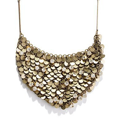 Women's JEWELRY - necklaces - Moonlight Sparkle Bib Necklace - Madewell