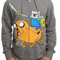 Adventure Time Battle Zip Hoodie - 370020