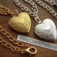 Set 2 Heart Locket Friendship Bracelets Brass Heart Gold Bracelet Silver Bracelet Silver Locket Heart Charm Bracelet Set Of 2 Special Price