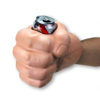 Big Mouth Toys The Beast Giant Fist Shaped Can Holder and Koozie: Amazon.com: Kitchen & Dining