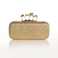 Women's Knuckle Clutch Bag