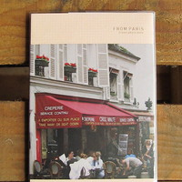 paris travel photo notebook