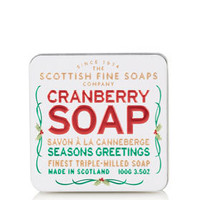 Cranberry Soap in Tin