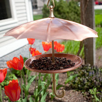 Bird Umbrella Feeder | Outdoor D?cor | Stonewall Kitchen - Specialty Foods, Gifts, Gift Baskets, Kitchenware and Kitchen Accessories, Tableware, Home and Garden D&amp;eacute;cor and Accessories