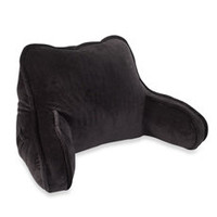 Plush Backrest - Black