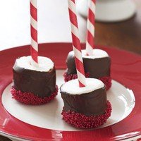 Holiday Ideas / Hot Chocolate Marshmallow Stirrers