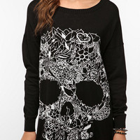 Mad Love Wild One Skull Sweater