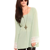 GYPSY WARRIOR - Aries Bell Sleeve Tunic