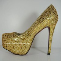Sexy High Heels featuring Crystals HIGD