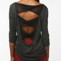 Tela Twist Back Bow Top