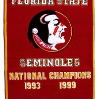 NCAA Florida State Seminoles Dynasty Banner
