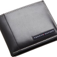 Tommy Hilfiger Mens Cambridge Passcase, Black, One Size