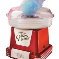 Nostalgia Electrics PCM-805RETRORED Retro Series Hard & Sugar-Free Candy Cotton Candy Maker: Amazon.com: Kitchen & Dining