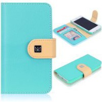Cool Stuff - CaseCrown Pathway Wallet Case (Cloud Blue) for Apple iPhone 5