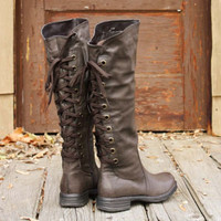 Winthrop Lace Back Boots, Rugged Boots &amp; Shoes