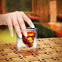 ThinkGeek :: Doomed Crystal Skull Shotglass