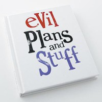 evil plans notebook - Home and garden accessories