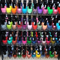 Amazon.com: 48 Piece Rainbow Colors Glitter Nail Polish Lacquer Set + 3 Scented Nail Polsih Remover: Health &amp; Personal Care