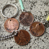 Hand Stamped Christian Penny  Beloved by DesignByAnyOtherName