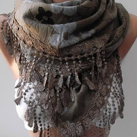NEW -Gorgeous Scarf / Shawl  Elegant and Classy ....large