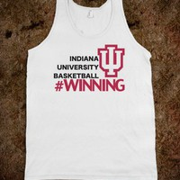 IU Basketball Winning Tank - PopCultureTees&Tanks