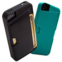 Q Card Wallet Case For iPhone