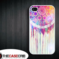 Dream Catcher - Dripping colorful - Apple iPhone 4s and iPhone 4 Case Cover