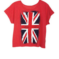 Union Jack Fade Tee