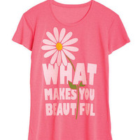 What Makes You Beautiful Tee