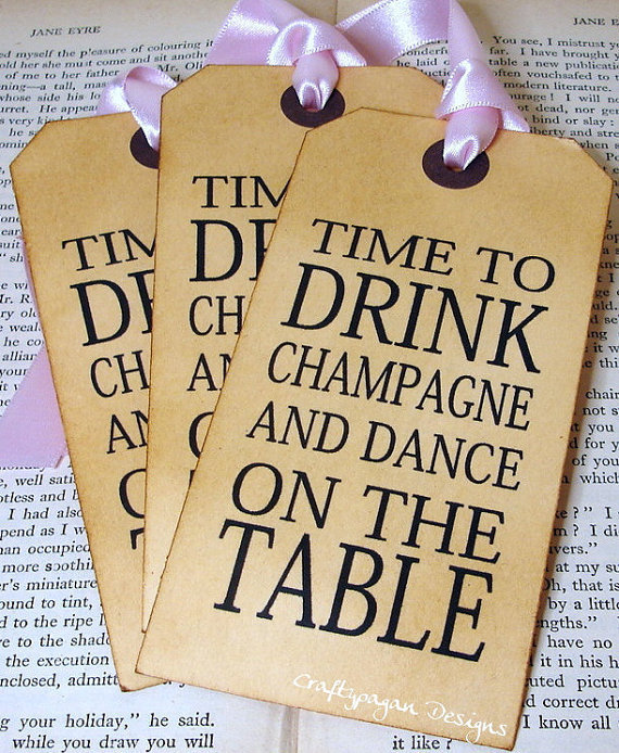 Save the Date Vintage Luggage Tag and Envelope with by craftypagan