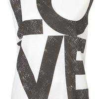 Love Tank - Jersey Tops  - Clothing