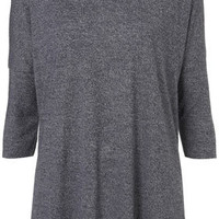 Fleck Oversized Top - Jersey Tops  - Clothing