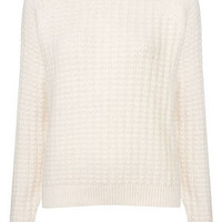 Angora Stitch Jumper by Boutique - Knitwear  - Clothing