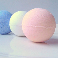 Mini Bath Bombs Holiday Gift Pack, Bath Bombs 3 Pack, All Natural Bath Bombs, Holiday Gifts, Gifts For Her