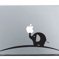 Elephant MacBook Decal Mac Apple skin sticker