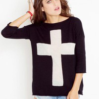 Burnout Cross Knit - NASTY GAL