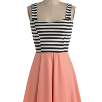 Feeling Grapefruit Dress | Mod Retro Vintage Dresses | ModCloth.com