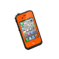 LifeProof 1001-09 Carrying Case for iPhone 4S/4 - 1 Pack - Retail Packaging - Orange/Black