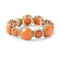 Tinley Road Faceted Jewel Stretch Bracelet | Piperlime