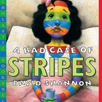 A Bad Case of Stripes [Paperback]