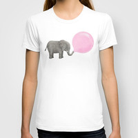 Jumbo Bubble Gum  T-shirt by Terry Fan | Society6