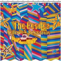 The Beatles Yellow Submarine - Shower Curtain
