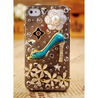 iPod Touch and iPhone4S 3GS Crystals Case Cover - GULLEITRUSTMART.COM