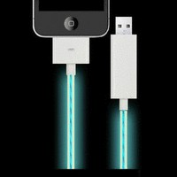 Apple Dock Connector Light Flow USB Charge &amp; Data Sync Cable i Phone iPod i Pad